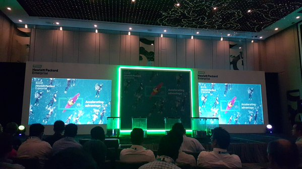 Hewlett Packard Enterprise 3PAR Launch 7